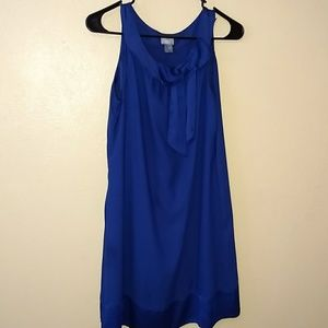H&M blue dress with bow. Size 6